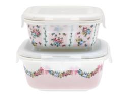 Food storagebox Maya pale pink