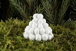 Snowlantern stick decoration 3cm