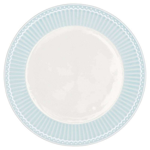 Plate alice pale blue small