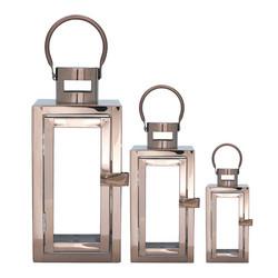 Rosegold lantern 3 sizes