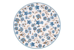 Small plate Marie petit dusty blue