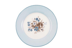 Plate Marie dusty blue