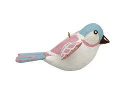 Decoration bird Ellie white
