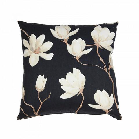 Magnolia cushiocover black
