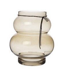 Glassvase chestnut