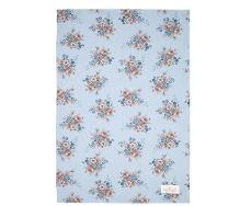 Tea towel Marie dusty blue