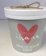 Vanilla-chokolate fudge for you