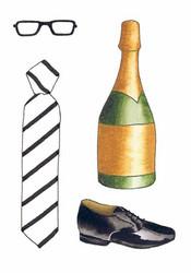 Onnittelukortti kravatti 2os