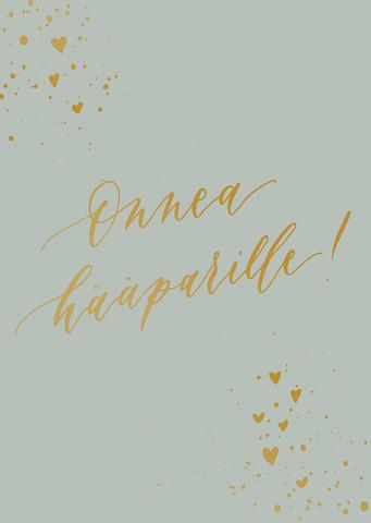 Congratulations card weddingcouple