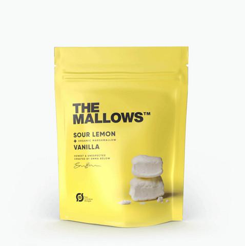 The Mallows marshmallow sour lemon & vanilla 80 g