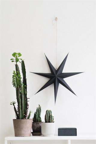 Riike Design's 7-prong handmade paper star soot
