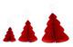 Christmas tree set honeycomb 3 colours