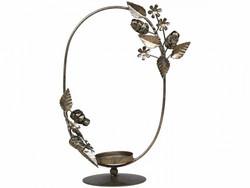 Candleholder antiqur brass tablecandle