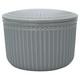 Storage jar set Alice Stone grey