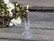 Candlestick glass clear