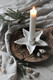 Seastar candleholder