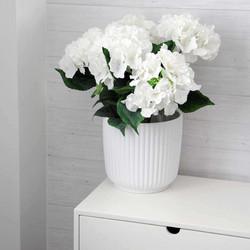 Flowerpot white