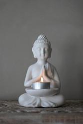 Candleholder Buddha