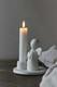 Guardian angel candleholder