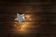 Ledlightstring grey feltstar