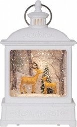 Vinterlantern with light and bambi