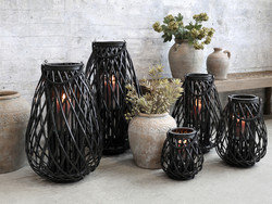 Lantern black medium