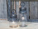 French Stable Lantern incl. bulb & timer clear