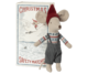 Maileg mouseboy in matchbox