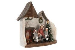 Christmashouse with led