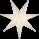 Decorus paperitähti 78cm valkoinen