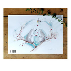 Sydämet A4-juliste