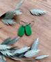 Pikkuiset-korvakorut, kirkkaan vihreät