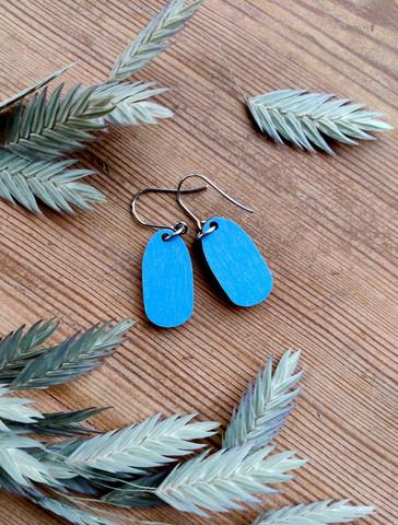 Pikkuiset-korvakorut, sininen