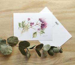 Karhunvatukka postikortti