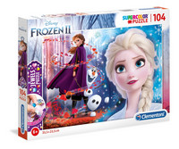 Clementoni Frozen 2 Jewels -palapeli