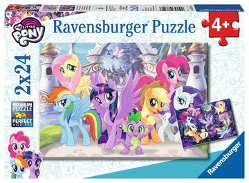 RAVENSBURGER My Little Pony palapeli 2x24
