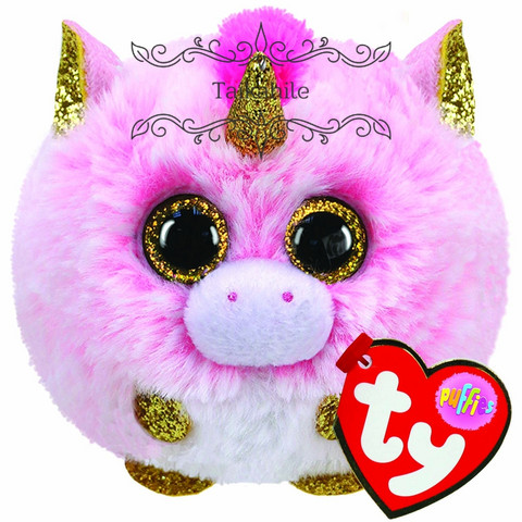 TY Puffies Fantasia unicorn pehmo
