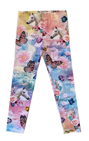 Pop&Co Elicia Unicorn lasten leggings