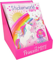 Princess Mimi Stickerworld tarrakirja