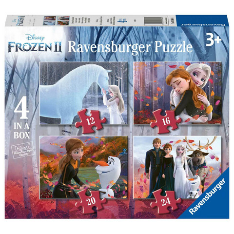 Ravensburger Disney Frozen Palapeli 4in1