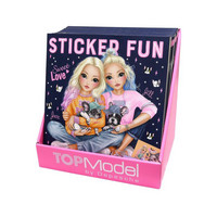 TOPModel Sticker Fun DOG tarrakirja