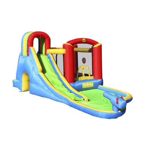 Happy Hop -pomppulinna Splash Wave Fun Zone
