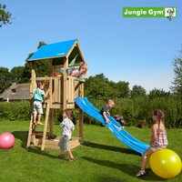 Jungle Gym Castle -leikkitorni sis. liukumäen