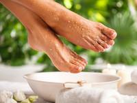 Hehkeät jalat -hoito
