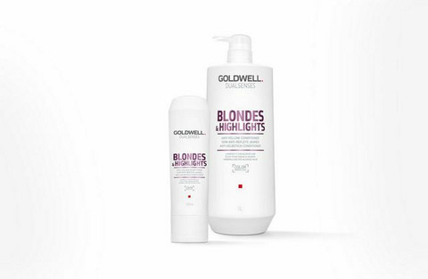 Goldwell - Dualsenses Blondes & highlights Anti-yellow Conditioner 1000ml