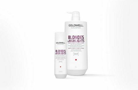 Goldwell - Dualsenses Blondes & highlights Anti-yellow Shampoo 1000ml