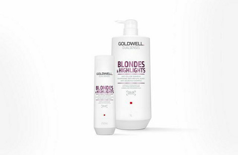 Goldwell - Dualsenses Blondes & highlights Anti-yellow Shampoo & Conditioner 2x1000ml