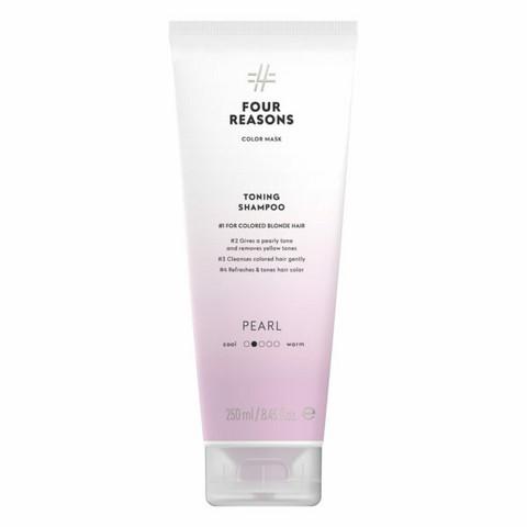 Four Reasons Color Mask Toning Shampoo Pearl