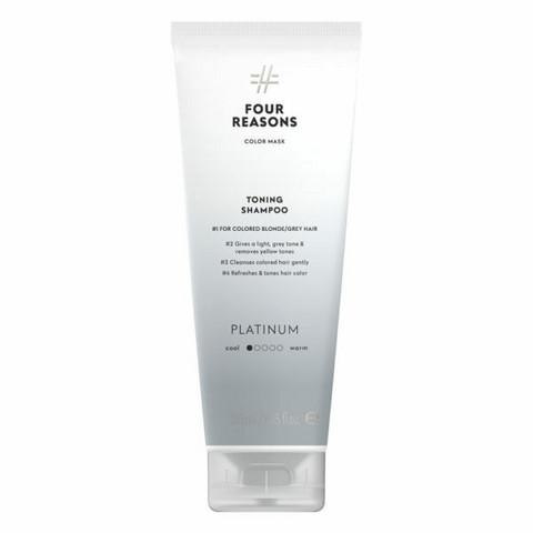Four Reasons Color Mask Toning Shampoo Platinum