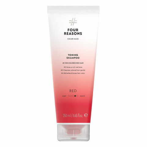 Four Reasons Color Mask Toning Shampoo Red